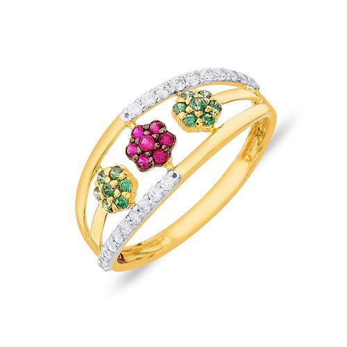 Gold Rings For Men And Women Online In India.