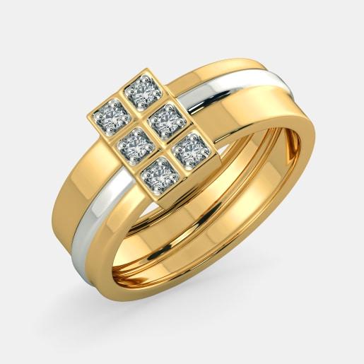 Buy 50+ Men\'s Engagement Ring Designs Online in India 2019.