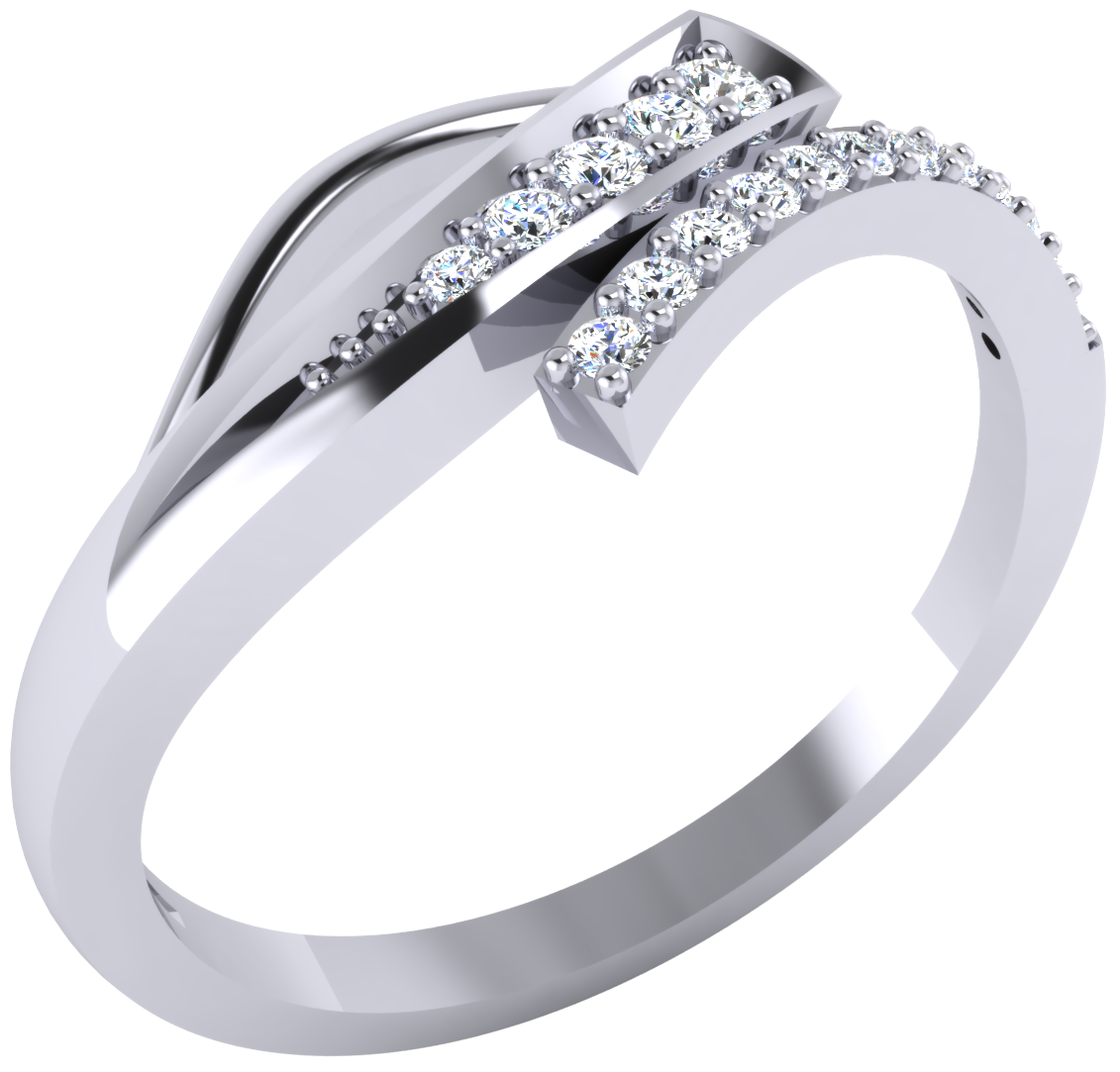 GO4CARAT 92.5 Silver Ring.