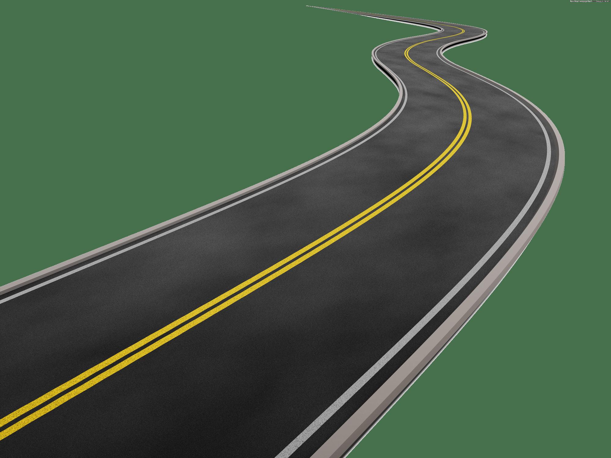 Road Background transparent PNG.