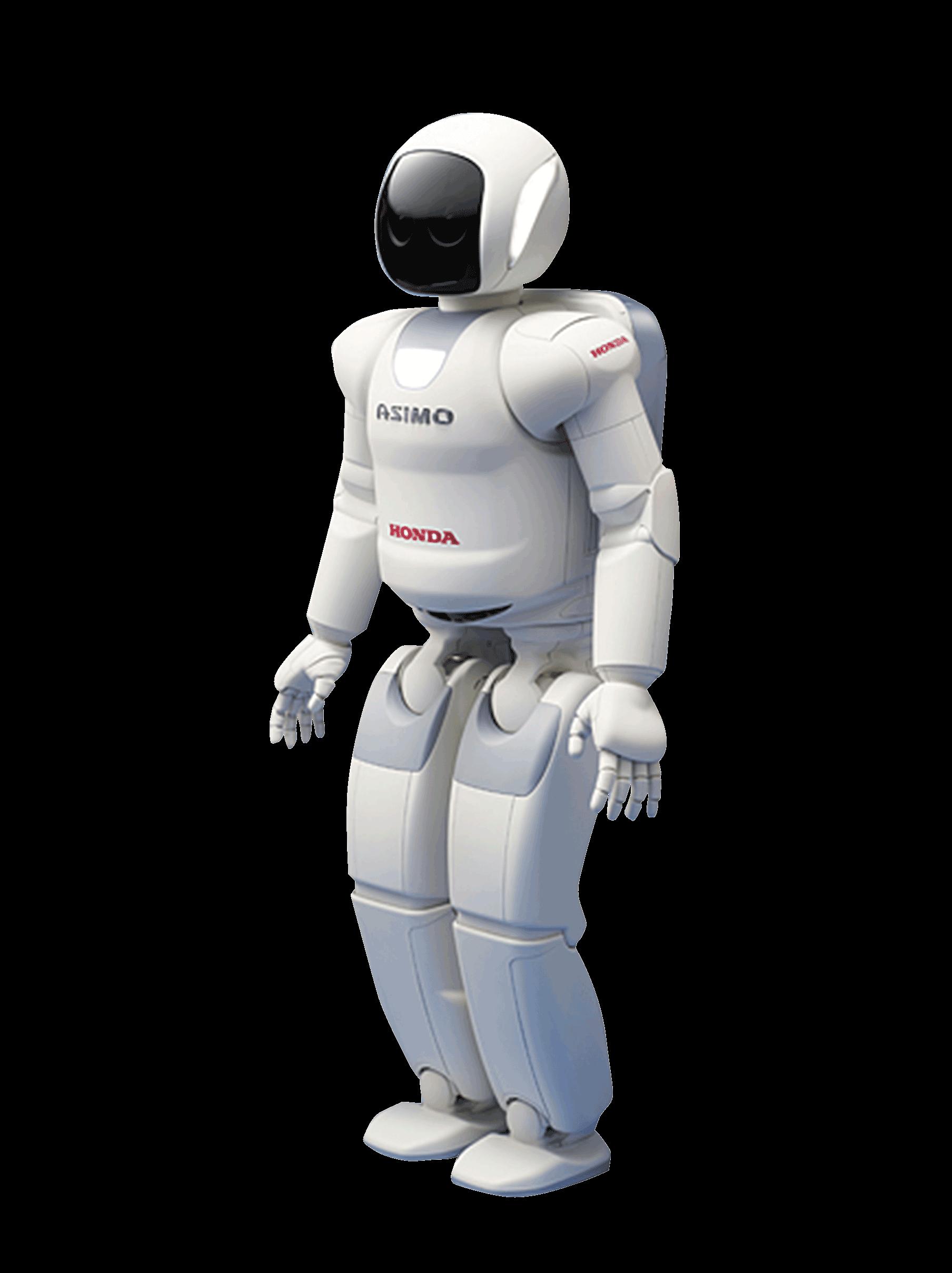 Robot Asimo transparent PNG.