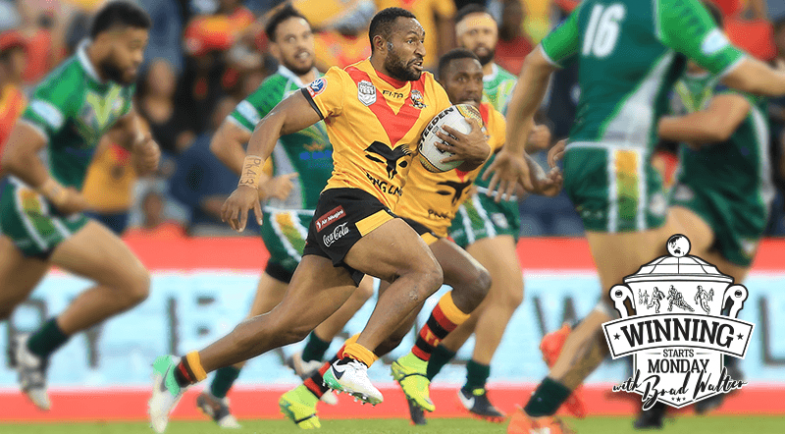 HUNTERS SUCCESS KICK STARTS RUGBY LEAGUE FRENZY IN PNG.