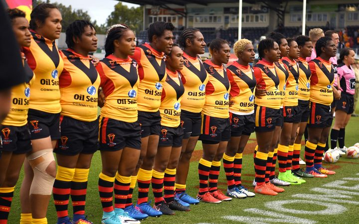 Sport: PNG Rugby League wants boost for women\'s game.