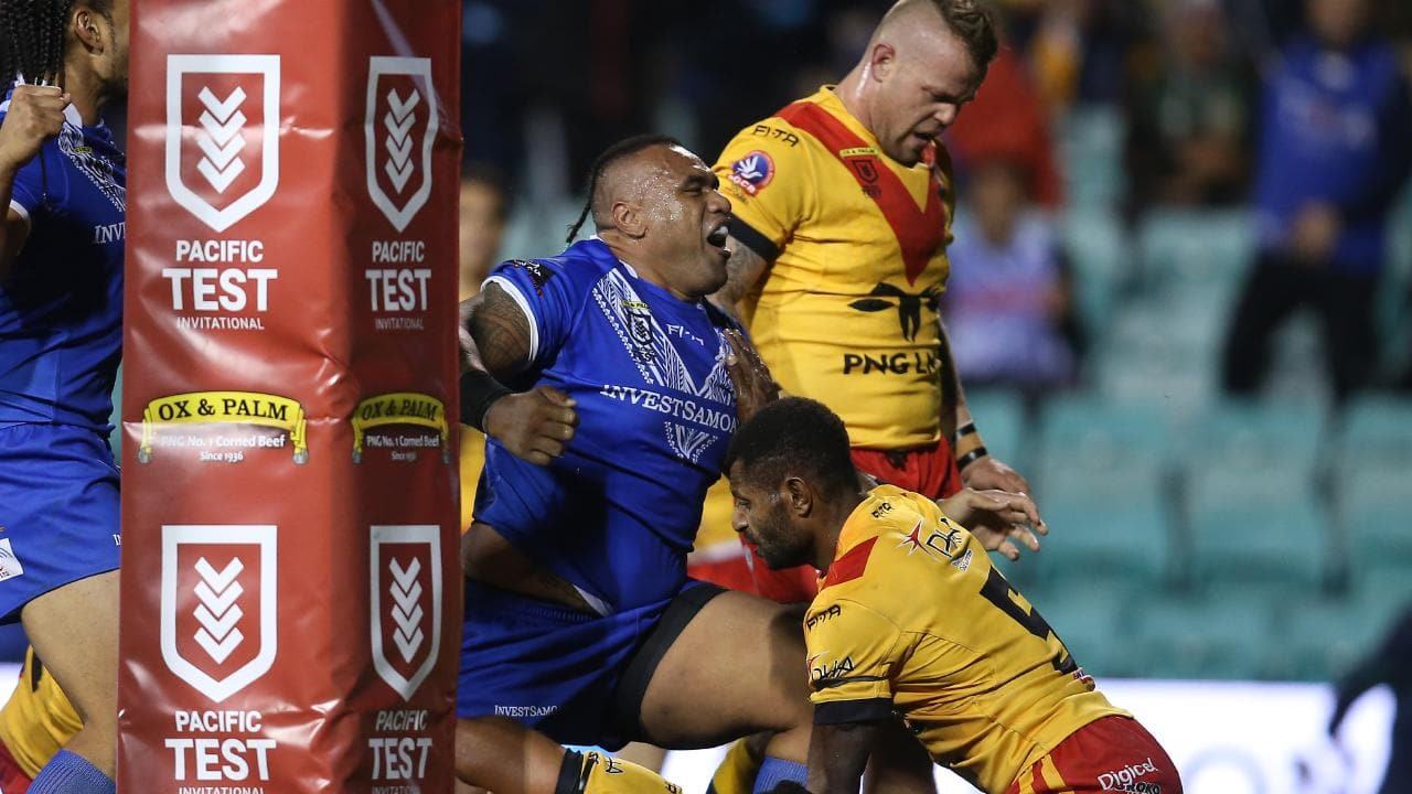 Samoa v PNG live stream, rugby league live scores, updates.