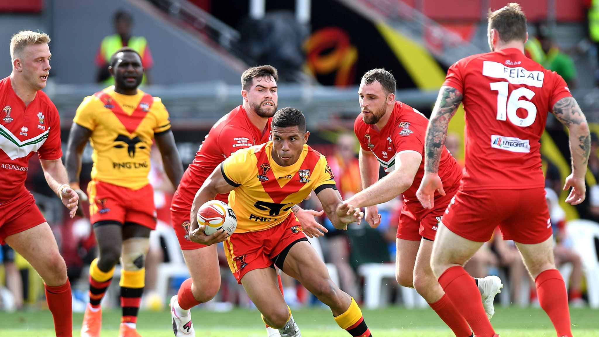 Papua New Guinea: A thriving rugby league nation.