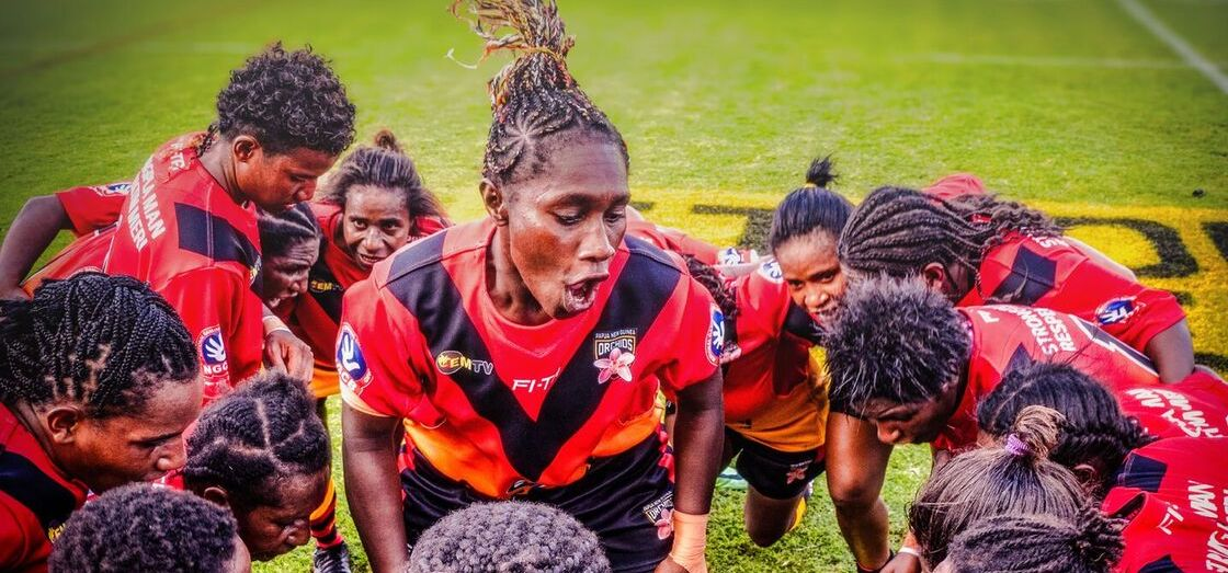 The Orchids\' tale: PNG\'s women\'s rugby league team.