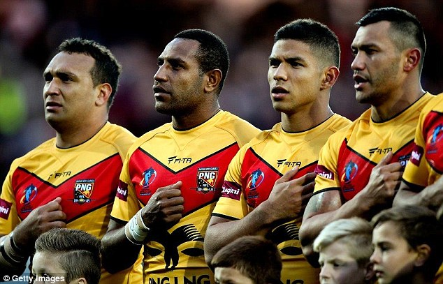 Papua New Guinea announced as 2017 Rugby League World Cup co.