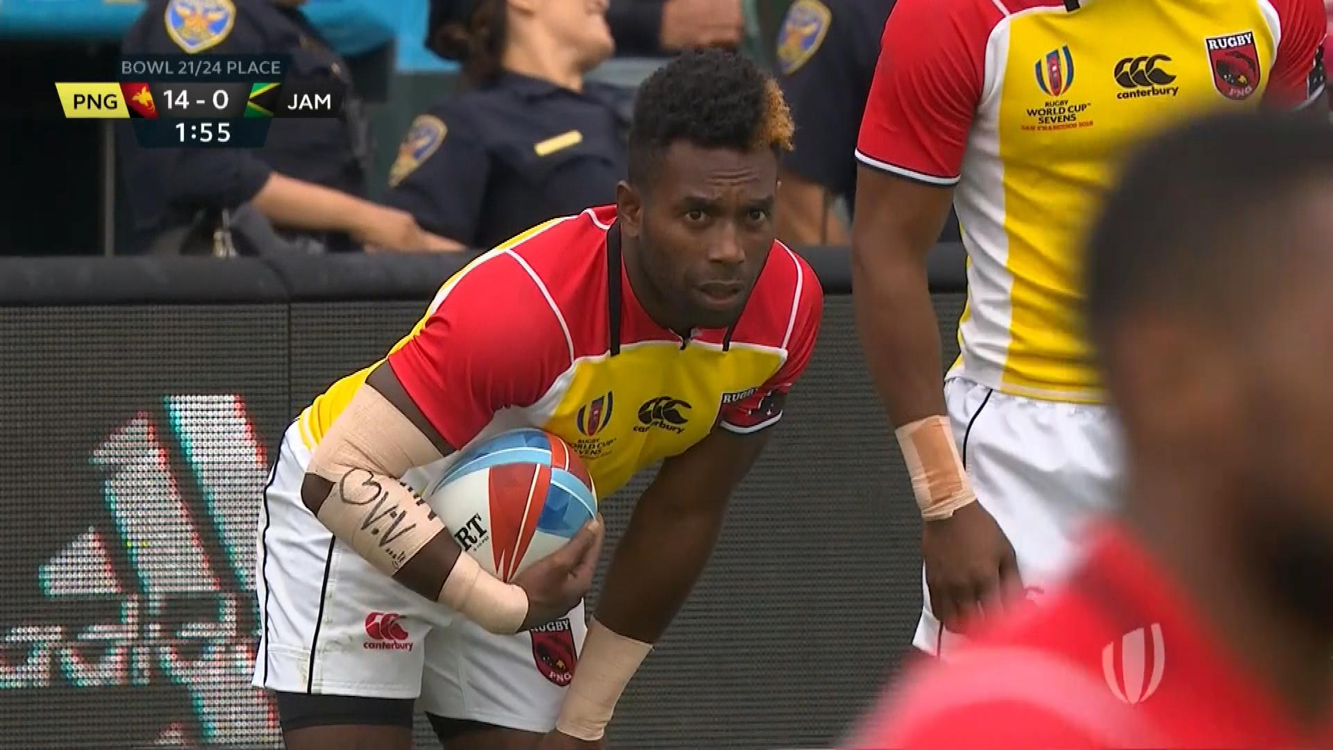 2018 Rugby World Cup Sevens highlights: Papua New Guinea 52.