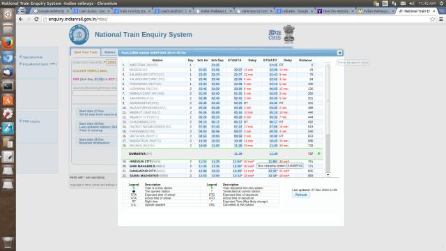 Trainspnrstatus.com has provided step by step guide to check.