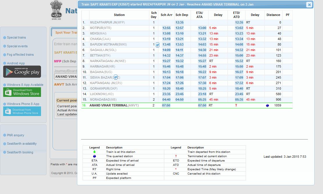 Spoturtrain with TravelKhana Spot Your Train Online Utility.
