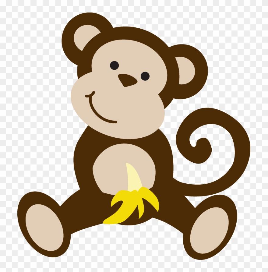 Safari Clipart Monkey.