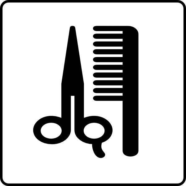 Hotel Icon Hair Salon Clip Art at Clker.com.