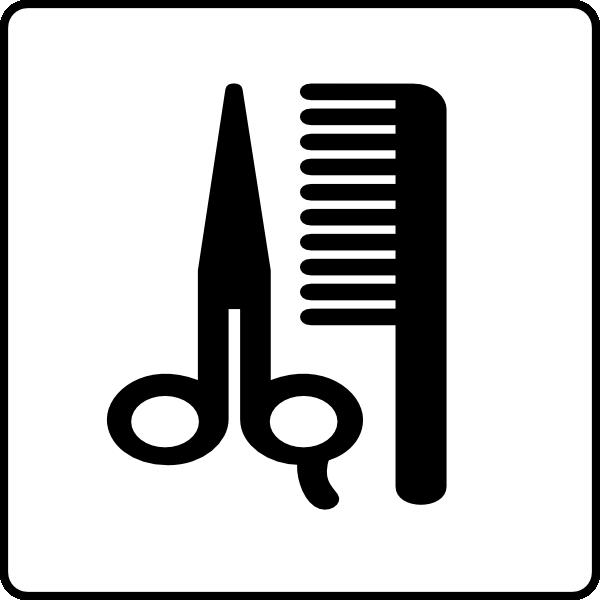 Hotel Icon Hair Salon Clip Art at Clker.com.