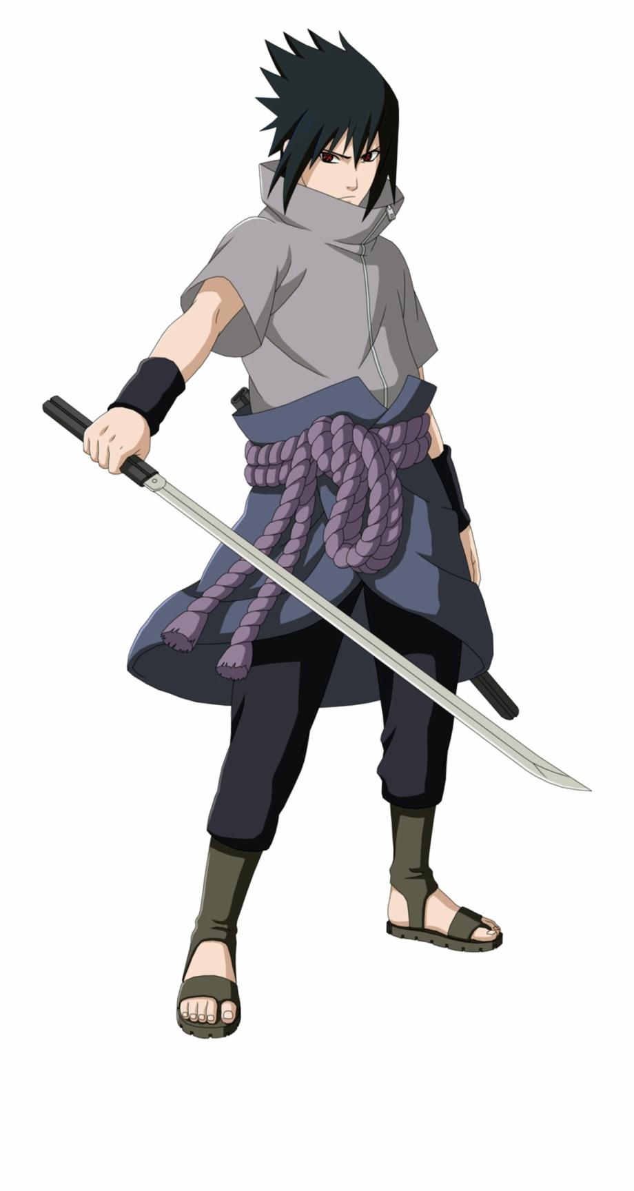 Uchiha Sasuke Png Transparent Image.