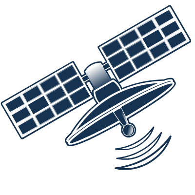 Satellite icon.