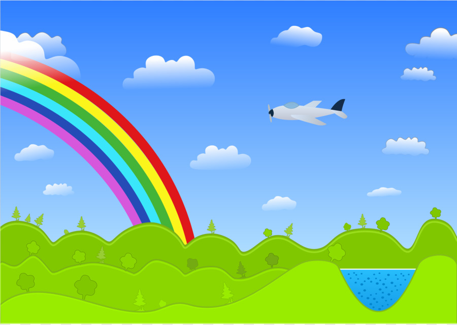 Rainbow Scenery Png & Free Rainbow Scenery.png Transparent.