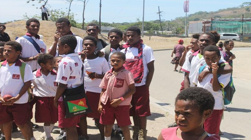 Hohola Ethnic Clash Forced School Closure.