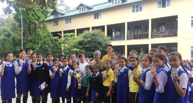 Why this Sikkim school puts so much focus on taekwondo.