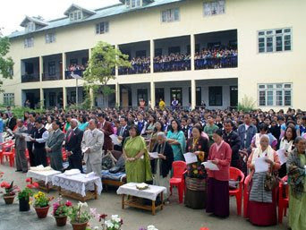 Proud to be a Sikkimese: PNGS celebrates 84th Founder\'s Day.