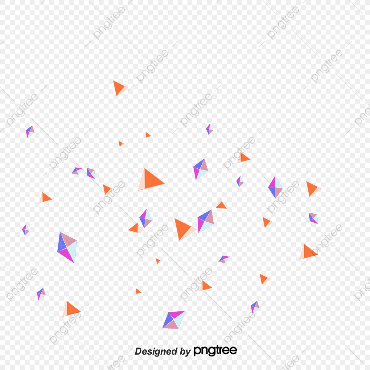 Confetti, Scrap, Scraps Of Paper PNG Transparent Clipart.