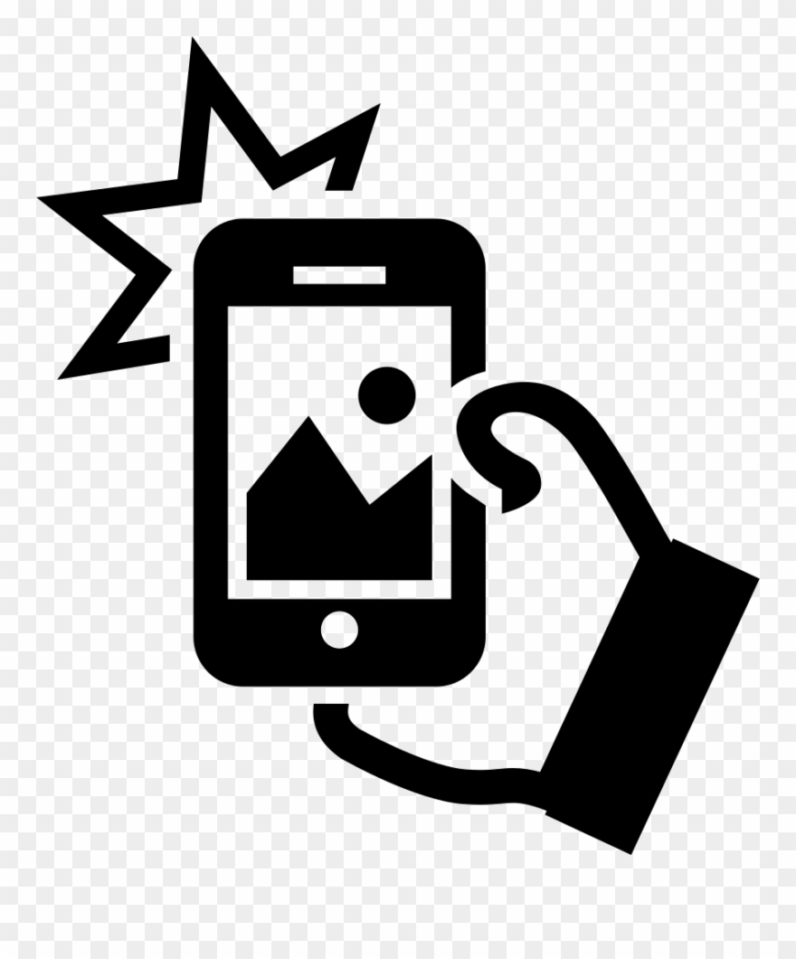 Taking A Selfie Svg Png Icon Free Download 18949 Phone.