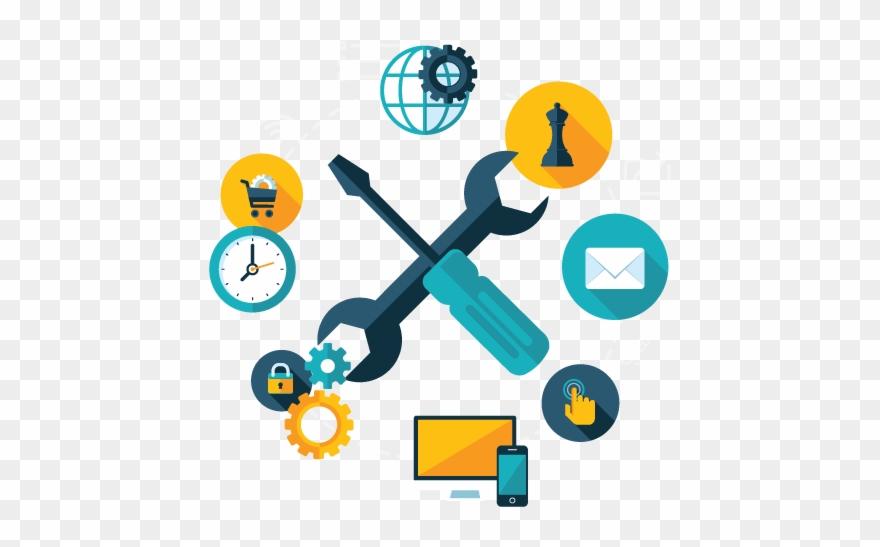 Software Development Clipart Administrative Work.
