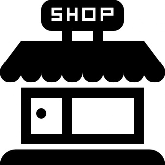 Shop PNG Black And White Transparent Shop Black And White.