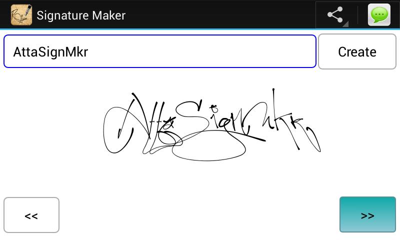 Signature Maker.
