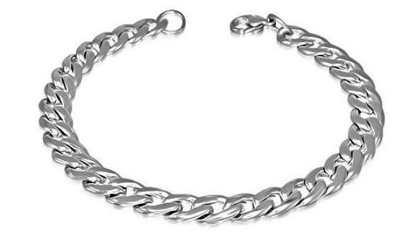 Mens Silver Bracelet.