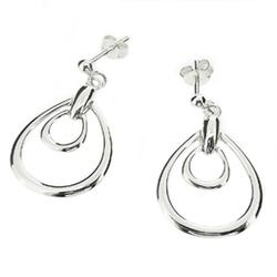 Silver Earrings, चांदी के झुमके, Silver Jewelery.