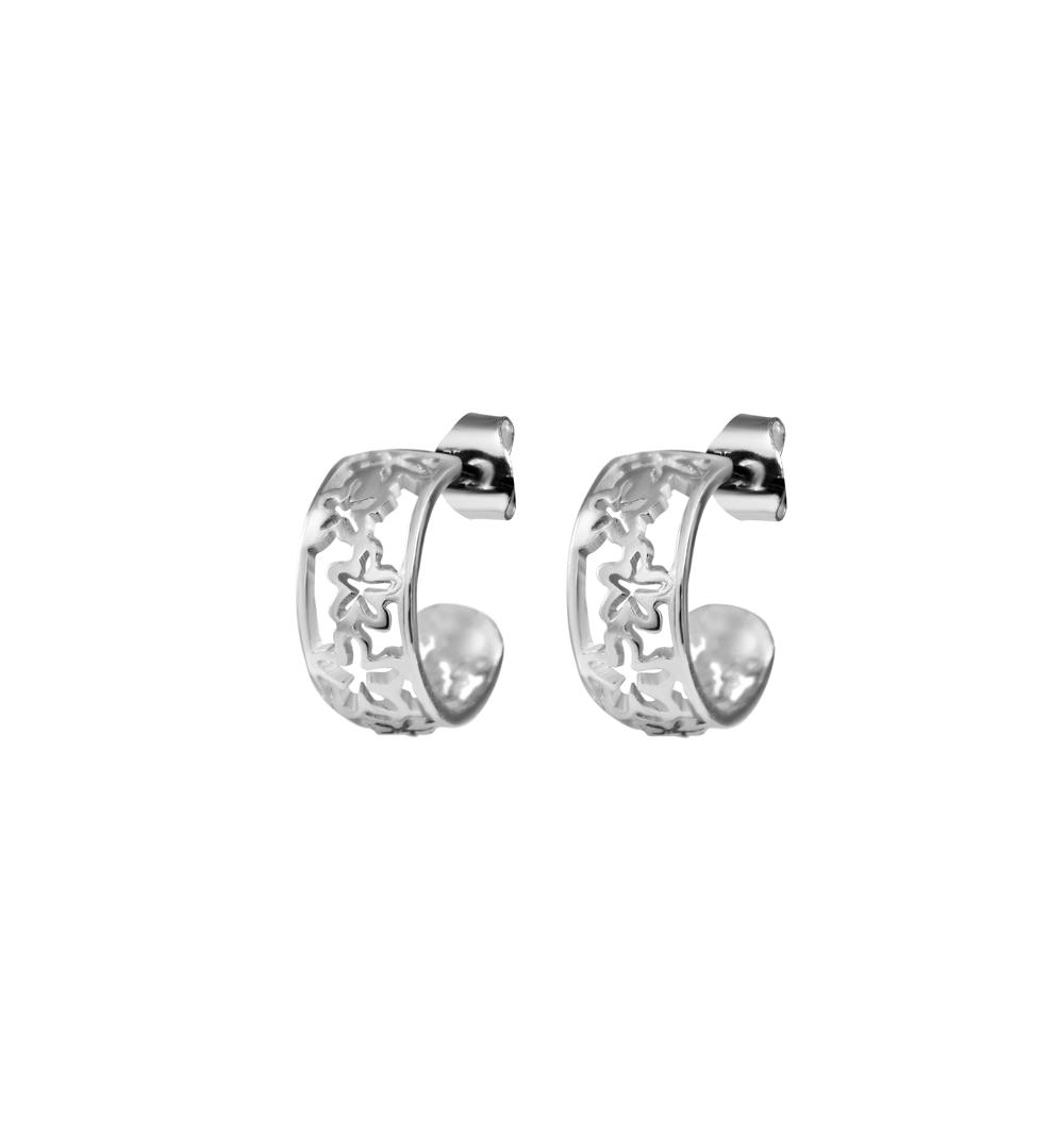 Miljazmines Silver earring.