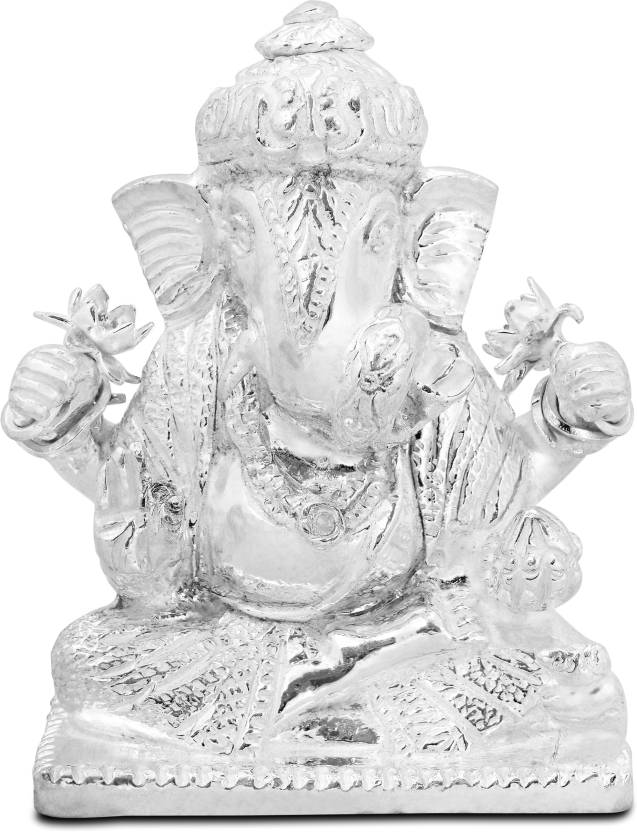 PNG Dagduseth Silver Decorative Showpiece.