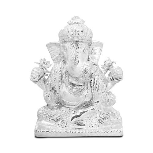 Product Reviews: Dagduseth Ganesh Silver Murty by PNG Jewellers.