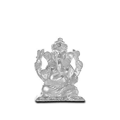 Buy P.N.Gadgil Jewellers Silver Bhariv Ganesh Murti Online.