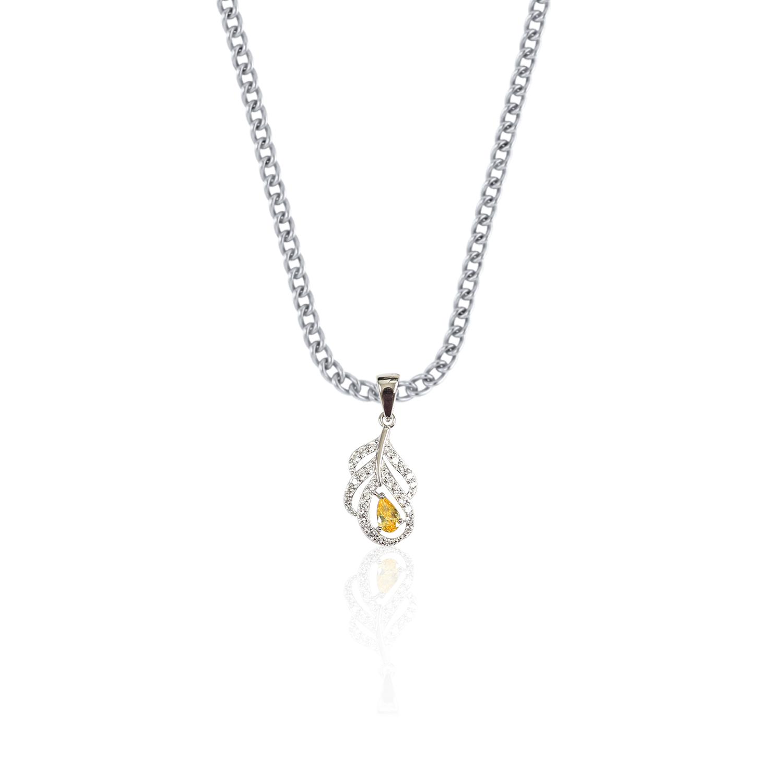 Featheroak Sterling Silver Pendant.