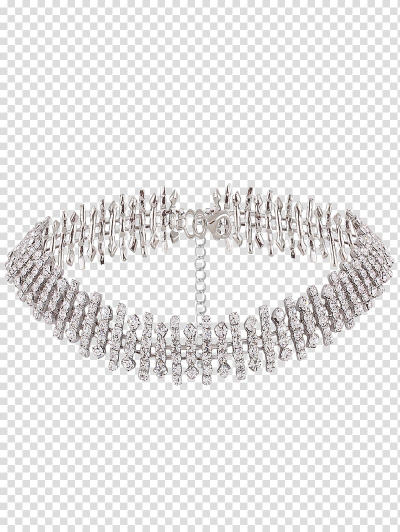 Choker Necklace Imitation Gemstones & Rhinestones Jewellery.