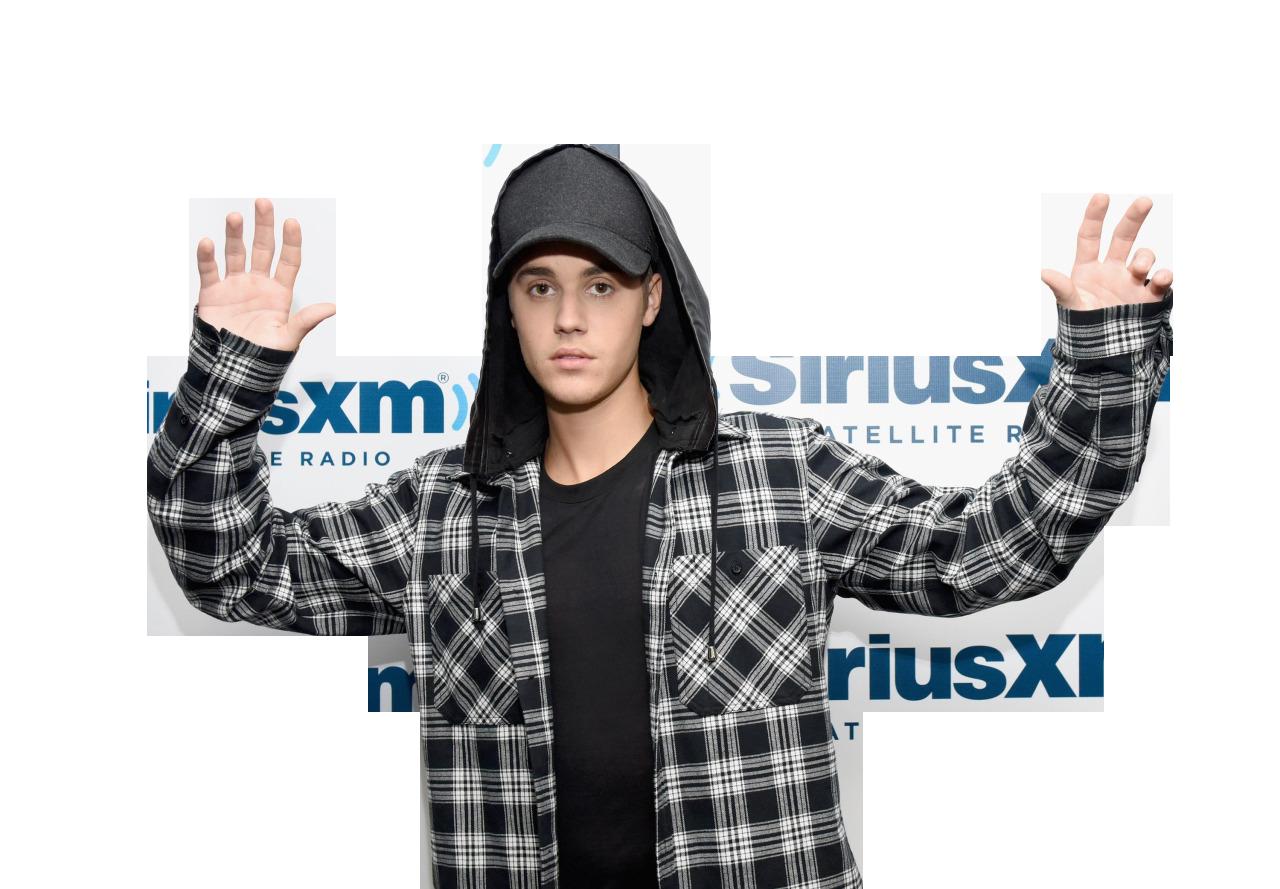 Justin Bieber Posing PNG Image.