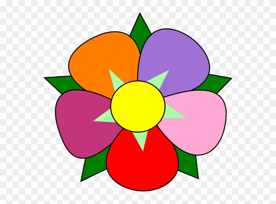 Clipart Of Single, Flower And Singles.