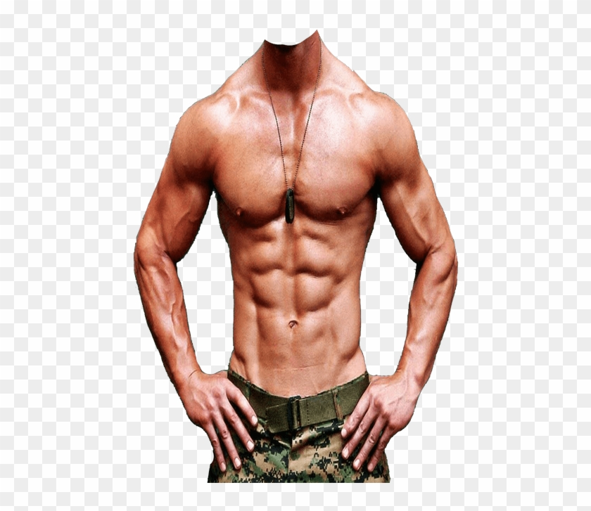 Six Pack Body Png, Transparent Png.