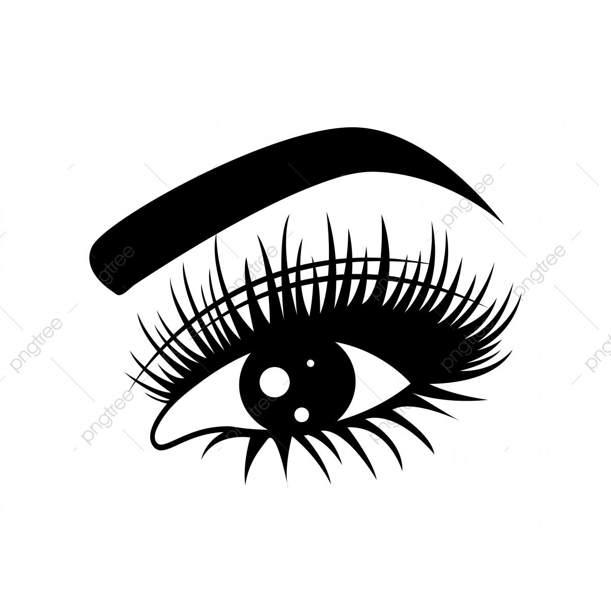Black Eye Sketch Background, Eyes, Sketches, Eyelashes PNG.