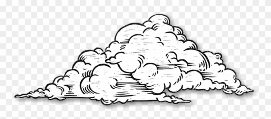 Clouds Clipart Sketch.