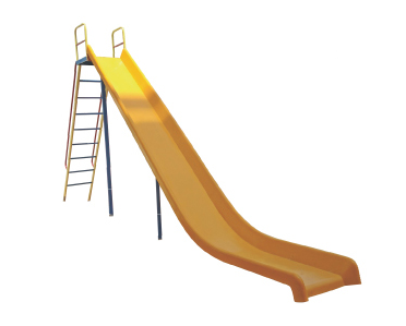 Frp Straight Slide Big Playground Equipment.