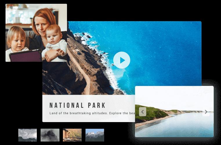 Free Photo Slideshow Maker Online.