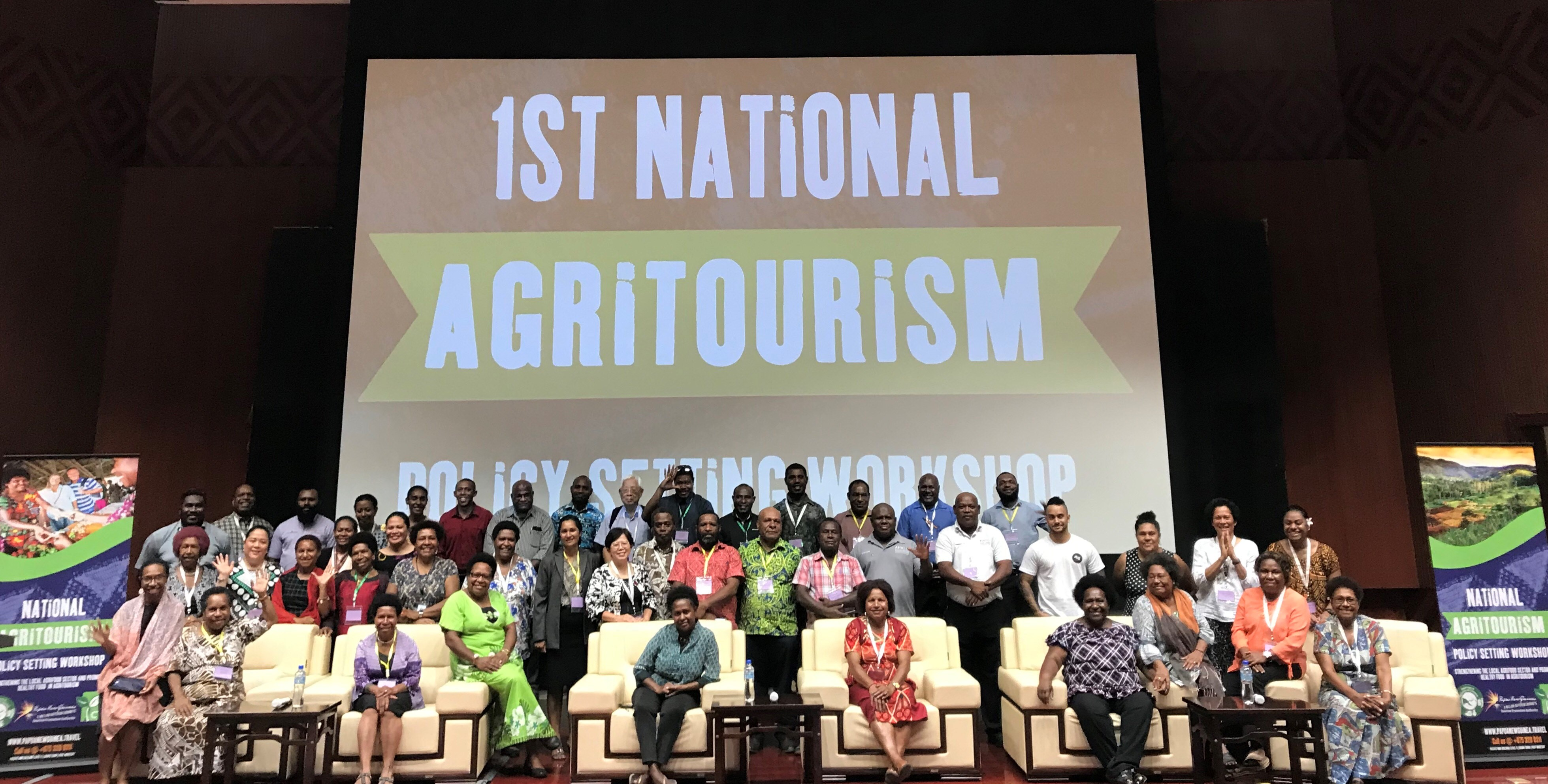 PNG Agritourism Policy Setting Workshop 2019.