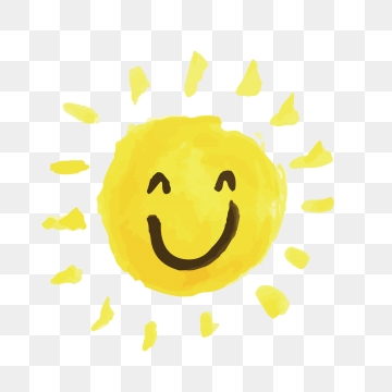 Smiling Sun PNG Images.