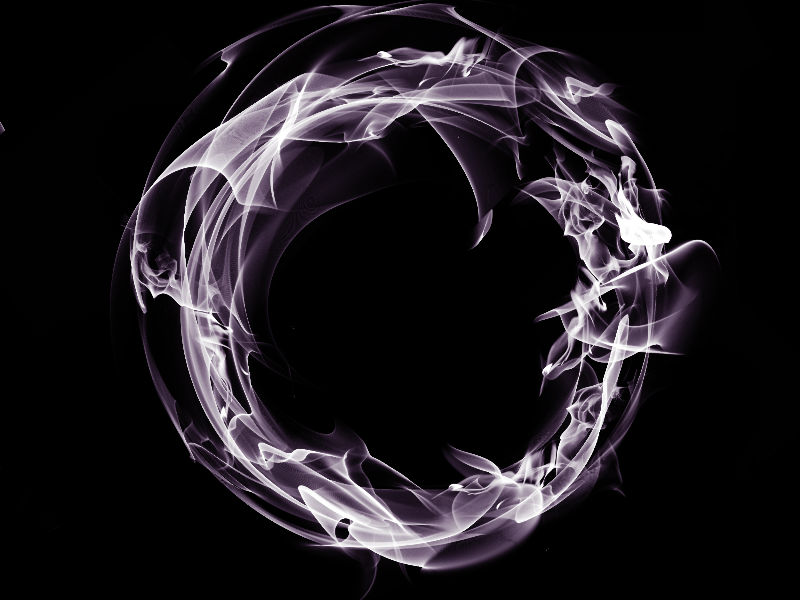 Smoke Ring Free Texture Overlay (Fire.