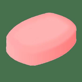 Pink Soap Bar transparent PNG.