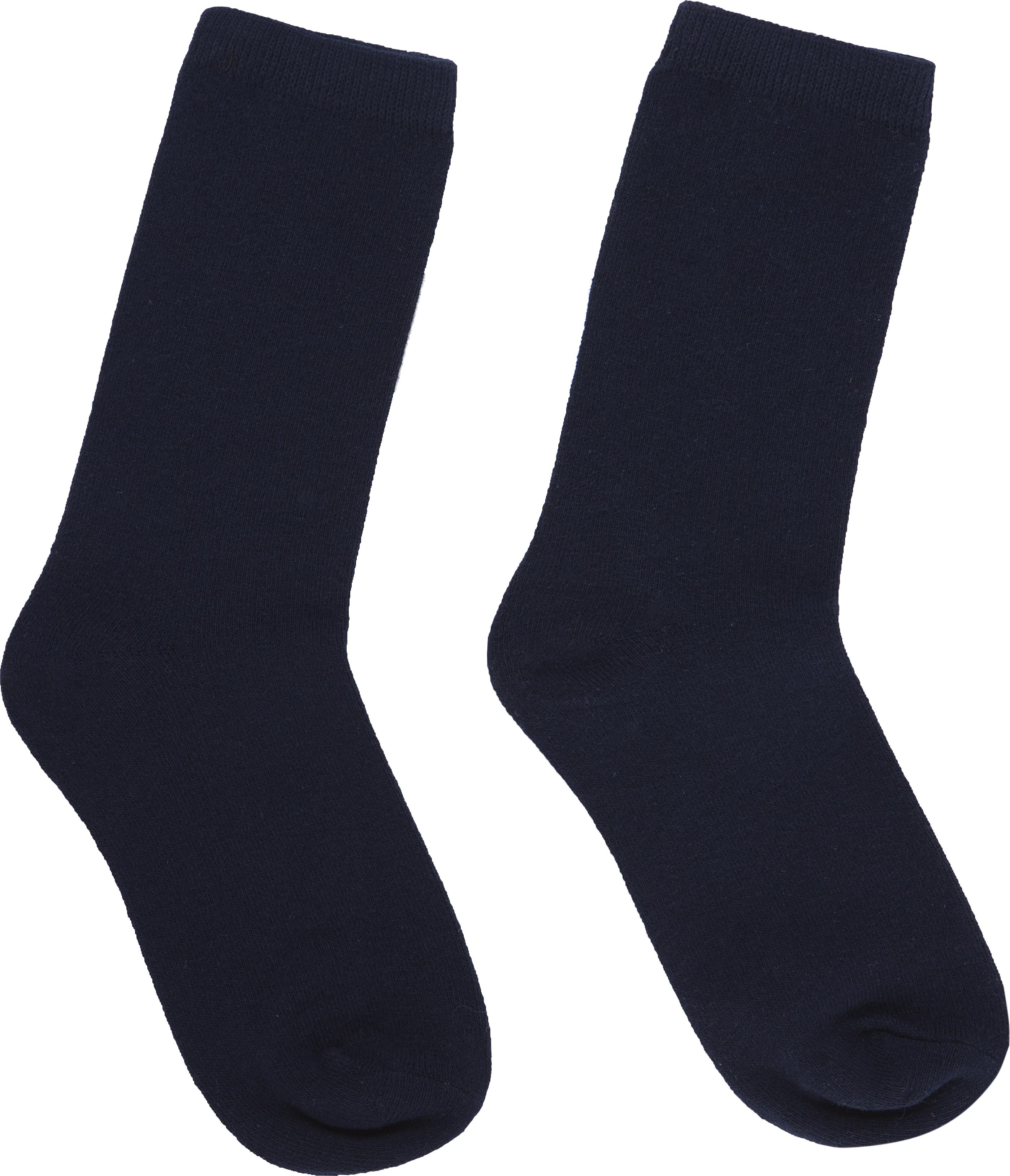 Socks Black PNG Image.