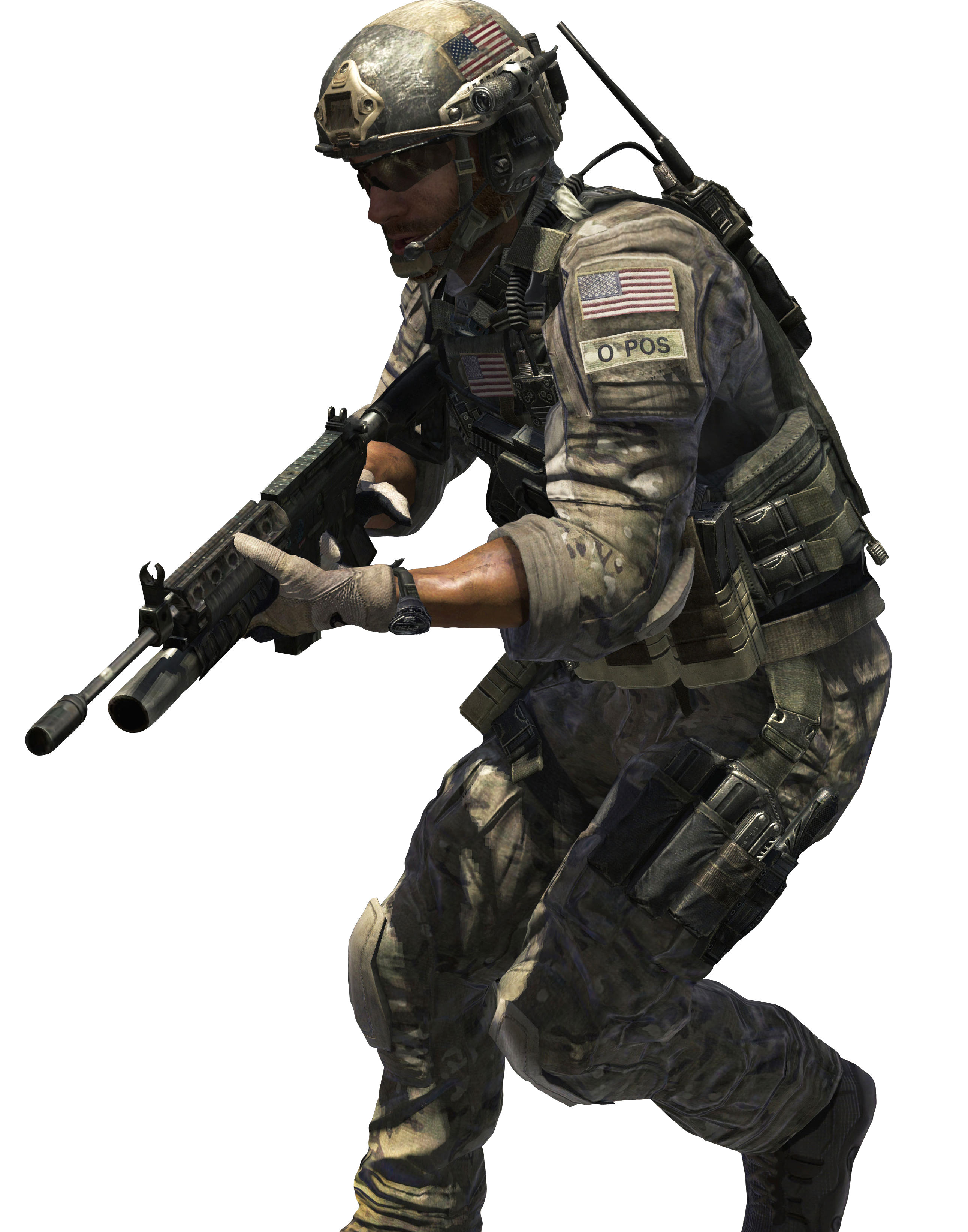 Soldier PNG Image.