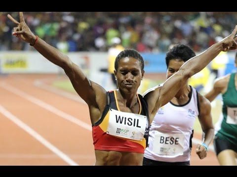 Toea Wisil shines at Port Moresby 2015 Pacific Games.